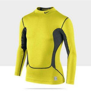 Nike Pro Combat Hyper Warm Neon Compression Shirt